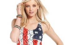 4th of July Fashion Under $50 / Cute Fourth of July Looks For Less / by Reality TV Fashion