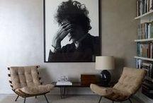 I N T E R I O R / Bedroom in grey / by Gitte