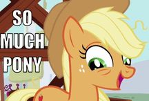 My little pony / My little pony is like the AWESOMEST cartoon on the hub! So I dedicated a Pinterest to them! AppleJack & Pinkie Pie are my favorites!! / by Megan Elliott