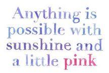 Pink / by Leslie Hinton