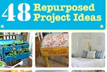 awesome upcycling ideas / by Shannon Clark