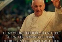 Pope Francis / by Immaculate Heart Radio