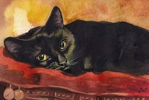 Cats / ... in art and photography / by Åse Margrethe Hansen