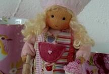Dolls/Doll Cloths: Crochet, knit, sewn / by Jean Tobey