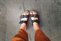 20 Stylish Ways To Wear Birkenstocks / by Brad Goreski