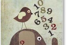 PO1/2 cijfers/tellen / by Elma