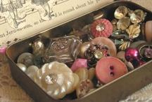 Buttons,Pins,Tins,Clocks,Finials & Marbles / by .... mortoglina