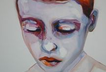 Painting I portraits / Painted portraits to inspire / by Sandra Jennes