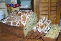 Recipes--Breads, Quick / I make a lot of quick breads.  They taste so good and go in a flash. / by Courtney Ricker