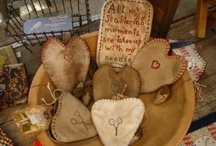Crafts--Primitive/Grungy / by Courtney Ricker