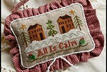 Cross Stitch--LHN & CCN / by Courtney Ricker