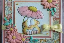 Cards---Penny Black / Love Penny Black's little hedgehog and mice.   / by Courtney Ricker