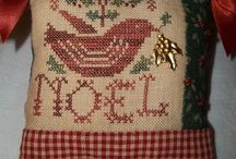 Pillow Ornaments--Homespun Elegance / by Courtney Ricker