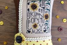 Pillow Ornaments--Heart In Hand / by Courtney Ricker