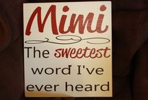I'm Their Mimi, Yes I Am / I never realized that there were soooo many references to, Mimi.  Now I have a board all about my grandkids and me.  My mom was a Mimi to my children and then when my grandkids came along, I became a Mimi and I love it.  Also, I am Mimi to my great granddaughter.  Wow....I am happy.  / by Courtney Ricker