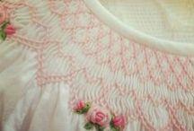 smocking & embroidery / by Samantha Millard