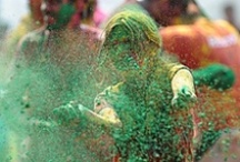 Holi Festival Coloring and more / Holi Festival pins! the Indian holiday of Holi / by Online Coloring