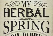 #MyHerbalSpring / Healing herbs, sunny projects, and spring-inspired recipes for #MyHerbalSpring! / by Mountain Rose Herbs