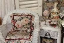 Amazing Shabby chic and romantic cottage decorating / Romantic cottage shabby chic designs and decor / by Patricia Rose