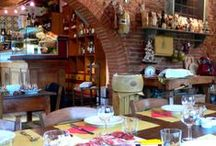 Tuscan Cuisine: our Osteria della Lodola / A part of the house is dedicated to the inn, where you can taste typical tuscan dishes and fine wines. Carlo, the chef, and Manuela, his wife, will give you a great time... / by Villa la Lodola B&B e Relais in Tuscany