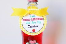 School Gifts and Crafts / Teacher gifts 
