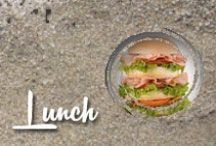 Lunch / Collection of lunch dishes / by Shibley Smiles