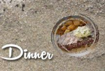 Dinner / Collection of dinner dishes / by Shibley Smiles