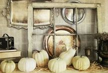 Fabulous Fall Mantels / A collection of beautifully decorated mantels for fall. Pumpkins, leaves and autumn colors abound. So many wonderful ideas that will help you showcase the fireplace focal point in your home. / by Amy Buchanan | AttaGirlSays.com