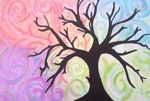 Canvas Painting Ideas / Ideas for me to Paint / by Annabelle ChristianMomma