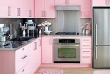 Pink Kitchens / The kitchen your inner 8 year old girl dreamed about.  / by Yale Appliance