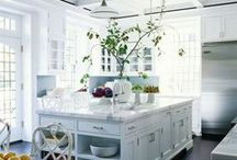 White Kitchens / Crisp, Clean White kitchen inspirations  / by Yale Appliance