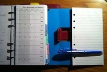 Binder Ideas / For both 8.5 x 11 binders as well as Filofax A5 size binder / by Annabelle ChristianMomma