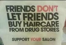 Hair Support / I am the hair pro who has solutions to your most pressing cut, color & styling problems.  / by Kerry