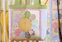 bolsas / hechas con telas / by micaela cortes