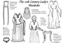 [Costuming] 1100-1200 / by Society for Creative Anachronism