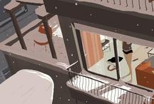 Illustration / by Sebastian Ramn
