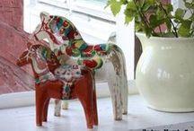 Dala Horses / by Molly O'Shaughnessy