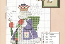 Cross Stitch Christmas / by Estella Green Whitford