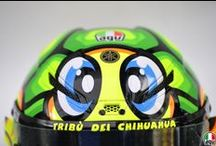 Valentino Rossi 2013 Pista GP / All the Pista GP helmets Valentino wore in the 2013 MotoGP season / by AGV Helmets Official
