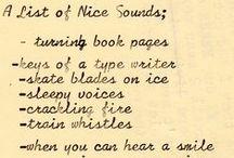 Lists / by Gail Reid