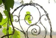 Yard and porch art ideas to create. / by Gail Reid