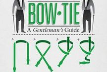 Tie knots/hats etc. / by Gail Reid