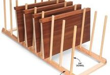 Workshop Organization / Great ideas for organizing your workshop for better efficiency. / by ZC Woodwork