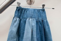 Great Uses for Old Jeans / by Joyce Ketner