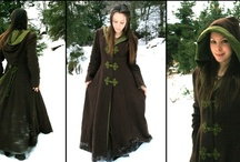 Fashion! Turn to the Right! / Cold weather clothes -- mostly jackets and sweater dresses. / by Rebecca Greiner