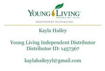 Young Living Essential Oils / by Kayla Hailey