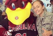 Gamecock Military and Veterans / This board is dedicated to honoring all the Gamecock veterans and those currently serving in the US Military. Thank you for your service!  Send in your own photo to gamecockathletics@gmail.com and take a look at our two albums on Facebook https://www.facebook.com/media/set/?set=a.10150423165934564.375023.37490844563&type=3 https://www.facebook.com/media/set/?set=a.10152732948544564.1073741879.37490844563&type=3 / by Gamecock Athletics