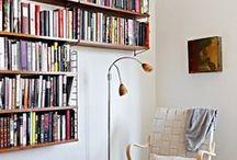 miejsca do czytania / Dobra książka to 3/4 sukcesu, dopełnieniem jest właściwe miejsce do czytania.  / by filia 29 MBP