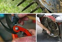 Homesteading Tools / A good homestead or urban garden or backyard farm needs the proper tools and equipment. Here are some of the best.   Post up to 5 pins per day. To join this board follow http://www.pinterest.com/UntrainedHW and then visit the Group Boards Board to request membership http://www.pinterest.com/untrainedhw/group-boards-for-untrained-housewife/ / by Untrained Housewife