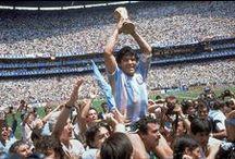 Selección Argentina de Futbol / Grandes Equipos y Grandes Jugadores / by Gabriel Faldutto